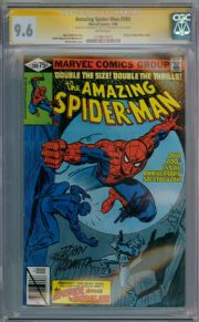 Amazing Spider-man #200 CGC 9.6 Signature Series Signed Stan Lee & John Romita Sr Marvel comic book